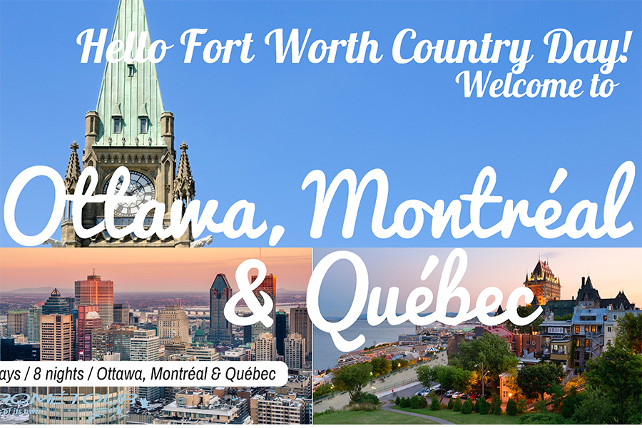 Twenty four students will explore Canada this summer with MS and US French teachers.