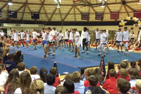 Students Prepare for Annual Battle of Bryant Irvin with Pep Rally
