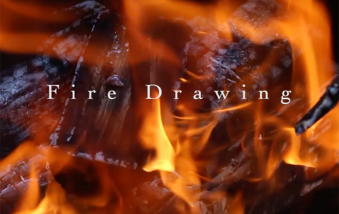 Students Draw with Fire