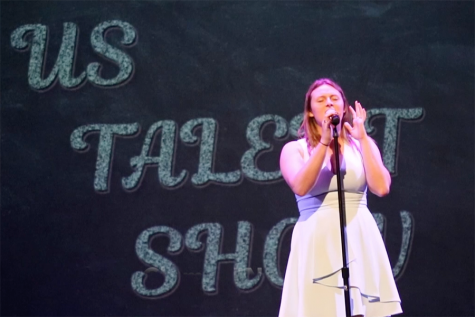Upper Schoolers Perform in First Talent Show