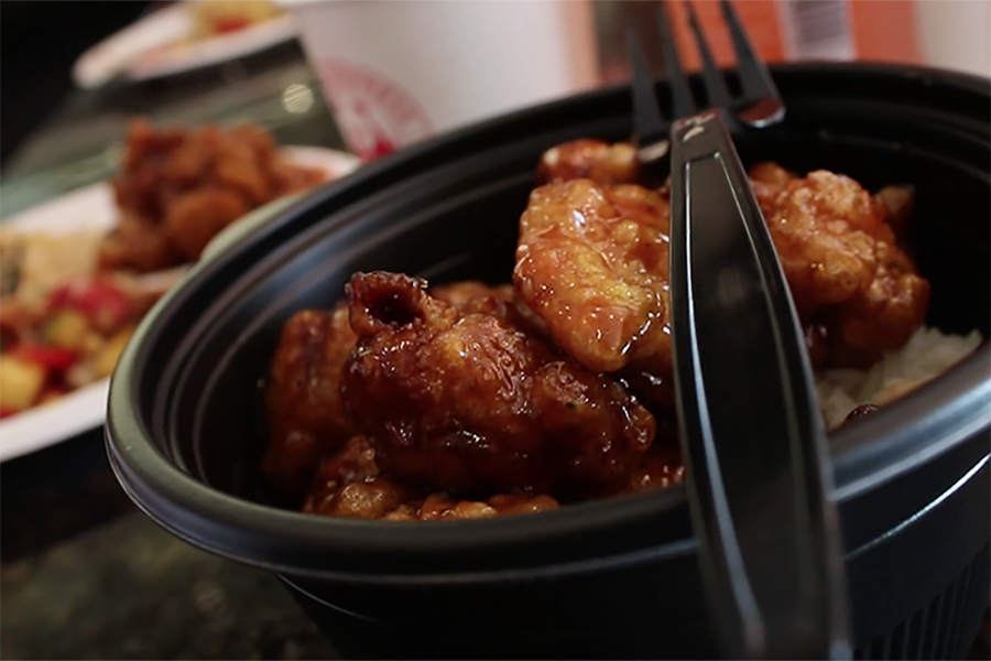Orange+chicken+is+a+favorite+at+both+Pei+Wei+and+Panda+Express.